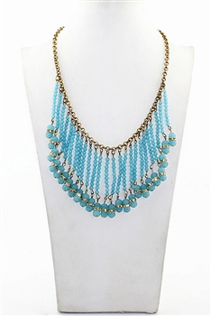 Crystal Tassel Necklaces N2094
