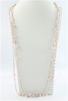 Multi-layer Long Pearl Necklaces N2139