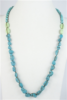 Turquoise Long Necklace N2184