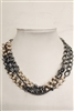Layered Chain Choker Necklace N2189