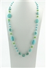Long Turquoise Necklaces N2224