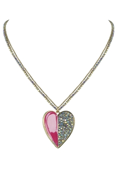 Heart Pendant Necklace N2271