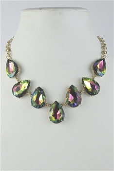 Shiny Crystal Party Necklaces N2280 - Multi