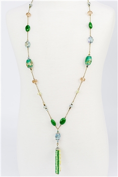 Crystal Long Necklace N2287