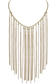 Chain Tassel Necklace N2329