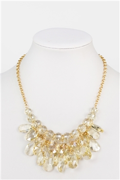 Big Crystal Necklace N2357