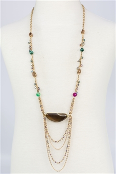 Charm Design Multi-layer Chain Necklace N2362