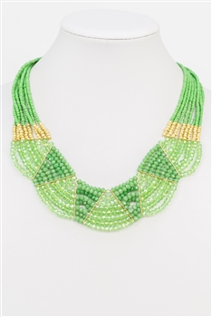 Necklace N2376 - Green