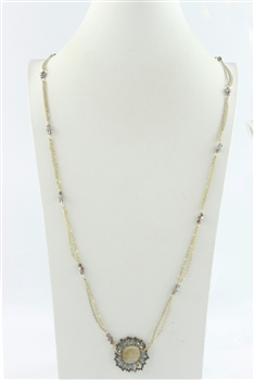 Long Crystal Necklaces N2391