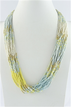 Multi-layer Beaded Necklaces N2430