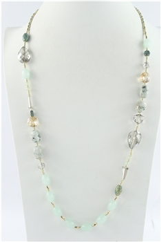 Crystal Gemstone Necklaces N2447