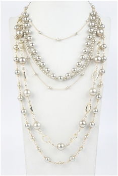 Multi-layer Pearl Necklace N2480