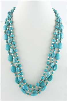 Turquoise Long Necklaces N2491