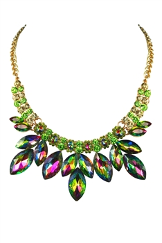 Crystal Necklaces N2546 - Multi