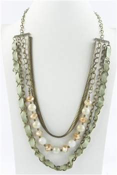 Three Layer Long Necklaces N2548
