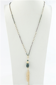 Long Tassel Necklace N2553