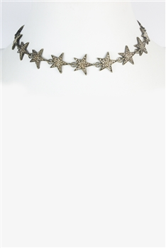 Five-pointed Star Collarbone Necklace N2590