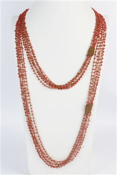 Crystal Beaded Necklace N2735