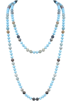 Handmade Crystal Beaded Long Necklaces N2741
