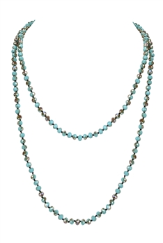 Crystal Long Necklaces N2758