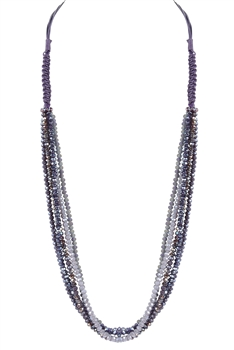 New Fashion Multi-layer Crystal Long Necklaces N2969