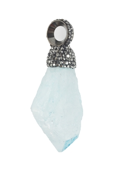 Stone Necklace Pendants N2995 - Blue