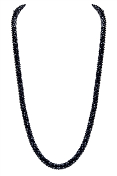 Strand Crystal Long Necklace N3163