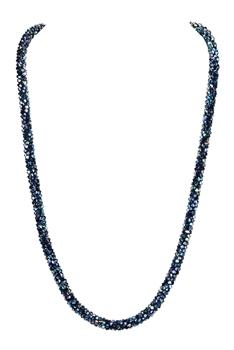 Strand Crystal Long Necklace N3163 - Multi