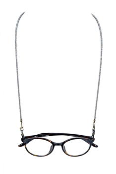 Fashion Lanyard Eyeglasses Crystal  Necklace N3188 - Grey
