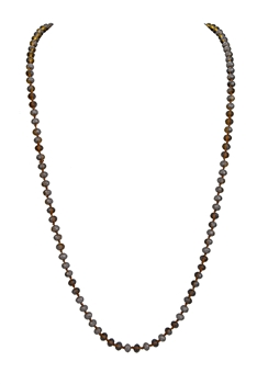8MM Crystal Beads Statement Necklace N3206 - No.10