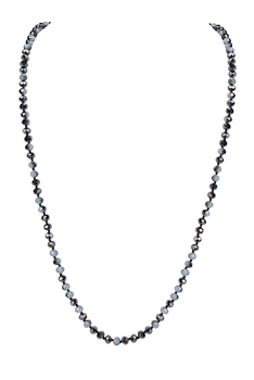 8MM Crystal Beads Statement Necklace N3206 - No.4
