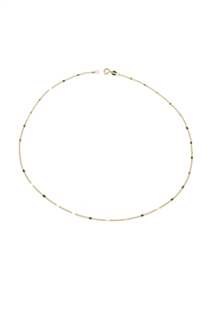 Simple Tiny Metal Chain Necklace for Pendant N3209