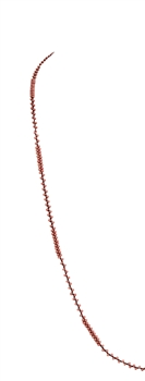 Long Seed Beads Necklace N3261 - Pink