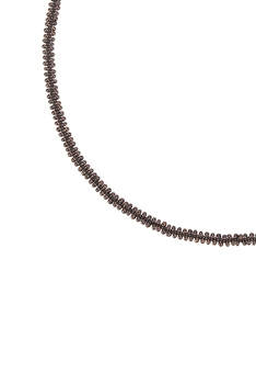 Simple Tiny Bead Chain Necklace for Pendant N3262 - Copper