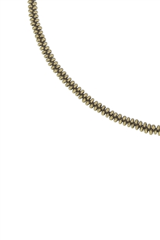 Simple Tiny Bead Chain Necklace for Pendant N3262 - Gold