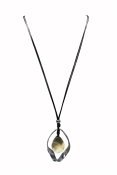 Geometric Metal Necklace N3272