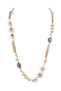 Sealife Wooden Beads Necklace N3319
