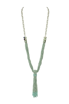 Multi-layer Beaded Necklaces N3423 - Green