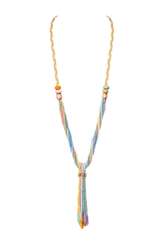 Multi-layer Beaded Necklaces N3423 - Multi
