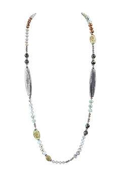 Classic Multi Stone Necklace N3439