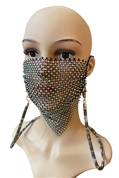 Crystal Mask Holder N3506 - Brown
