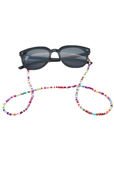 Seed Beads Eyeglasses Chain N3681
