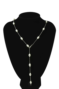 Pearl Y-shaped Necklace N3731