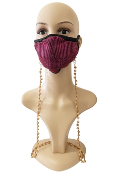 Crysta Beads Mask Holder N3823