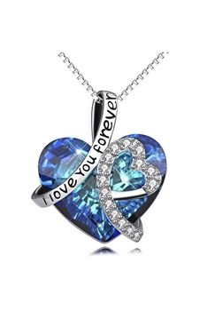 Heart of the Sea Pendant Necklace N3921