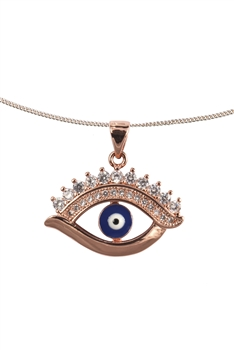Evil Eyes Pendant Necklaces NP0555