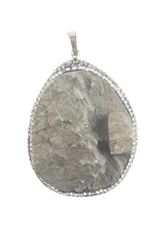 Mineral Natural Stone Pendants P0048