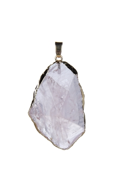 Fashion Amethyst Stone Statement Pendant P0223