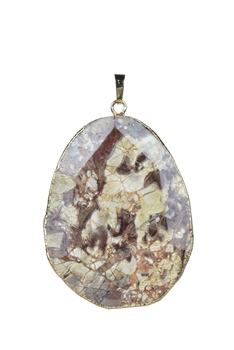 Fashion Ocean Jasper Stone Pendant for Necklace P0242