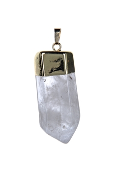 Fashion Clear Quartz Stone Pendant P0307